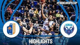 Mornar Bar (MNE) v Donar Groningen (NED) Quarter-Finals - FIBA Europe Cup 2017-18