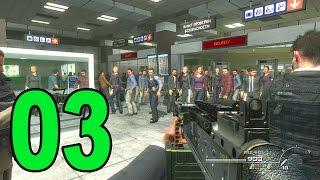 Modern Warfare 2 - Part 3 - No Russian Terminal Massacre (Let's Play / Walkthrough / Playthrough)