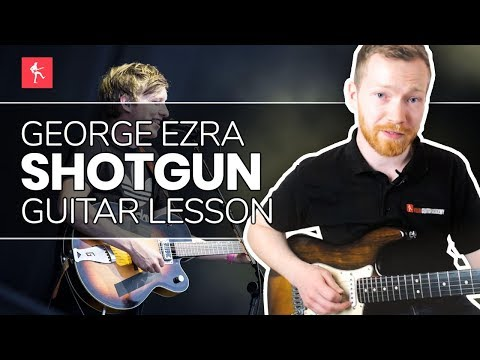 🎸Shotgun Guitar Lesson - How To Play Shotgun by George Ezra
