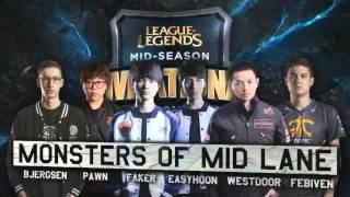 LoL MSI Mid Season Invitationals Opening Ceremony 2015 Teams Walk On Stage!