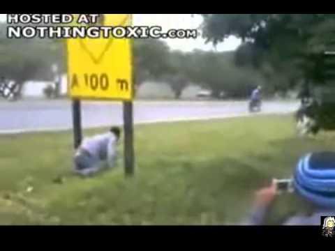 Cenas reais de acidentes inusitados e espetaculares Video 2