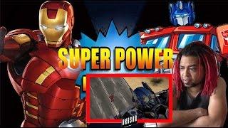 IRONMAN vs OPTIMUS PRIME - Super Power Beat Down - REACTION