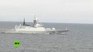 Rusia y China realizan ejercicios militares en el mar Báltico
