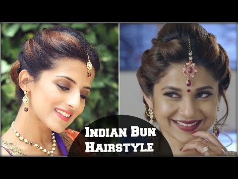 Xxx Mp4 Beyhadh Jennifer Winget S Easy Bun Hairstyle For Indian Wedding Occasion Party For Medium Hair 3gp Sex