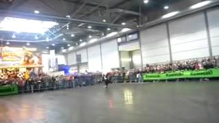 freestyle motorcycle extreme Kawasaki Z1000 did Crazy Freestyle Stunt Show (Exclusive)