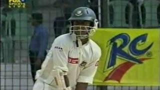 Shahriar Nafees against Australia