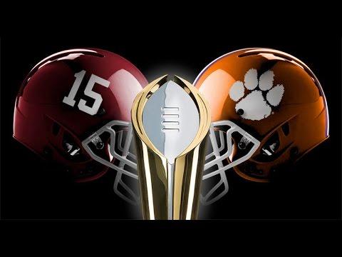 Alabama vs. Clemson Pump Up The Rematch