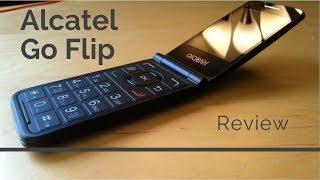 [Review] Alcatel Go Flip - A 4G Flip Phone in 2018!