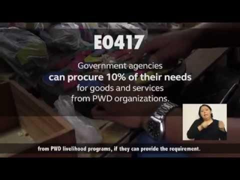 PWD Empowerment Video (Full Video)