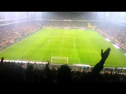 Fenerbahçe 2 - Beşiktaş 0 29.02.2016 Fenerbahçe adamın a.ına koyar