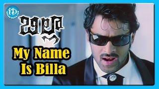 My Name is Billa Song - Billa Movie Songs - Prabhas - Anushka Shetty - Namitha