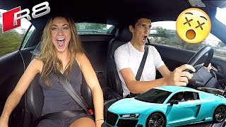 Driving The CRAZIEST Audi R8!! (It's a Steal at $70,000)
