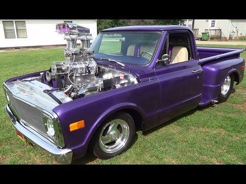 1968 Chevy C/10 Pickup Pro Street Blown Mafia
