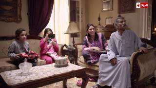 """كوميديا تحفة """"ابراهيم"""" يظهر فى التليفزيون كناشط سياسى ..رد فعل """"سيد رجب"""" ..حلقة 25 """"بين السرايات"""""""