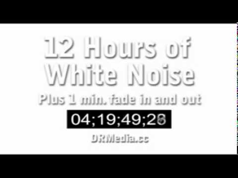 12 Hours of White Noise Static in Stereo. Favorite it for the future. Studying Sleep Tinnitus