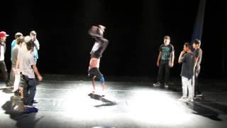 Electro dance y popping Vs Breakdance