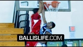5'10 Jahii Carson The Most Exciting PG In Class of 2011? Major Bounce & Game!