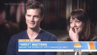 Behind The Scenes Fifty Shades Of Grey - Jamie Dornan & Dakota Johnson