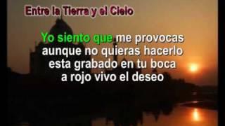ENTRE LA TIERRA Y EL CIELO KARAOKE LOS NOCHEROS PAZ MARTINEZ