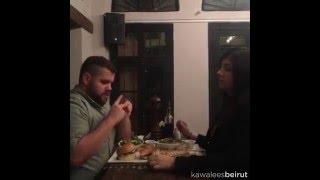 The fastest way to call a waiter -----  waiterاسرع طريقة لتعيّط للـ