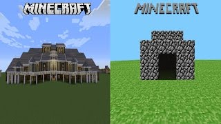 FIRST MINECRAFT VERSION VS. LATEST VERSION