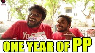 One Year of PP | Cake + Ice Cream For EVERYONE! | Paracetamol Paniyaram