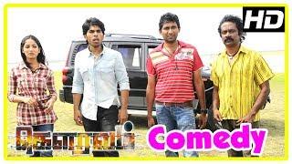 Gouravam Movie Comedy Scenes | Allu Sirish | Yami | Sricharan | Elango Kumaravel | Prakash Raj