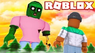 FIGHTING THE BOSS ZOMBIE!! | Roblox Zombie Attack