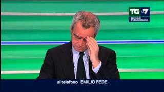 Emilio Fede: sono sconvolto