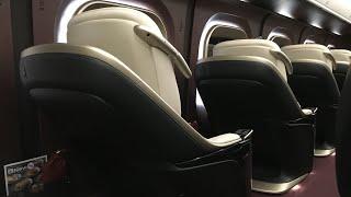 【Japanese Shinkansen】 Crazy first class !!