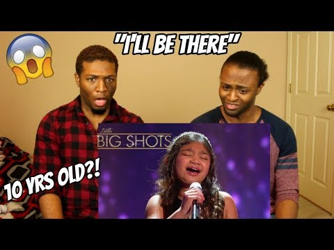 "Angelica Hale - 10 Year- Old Sings ""I'll Be There"" 