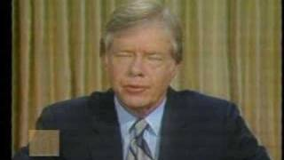 President Jimmy Carter - Statement on Iran Rescue Mission