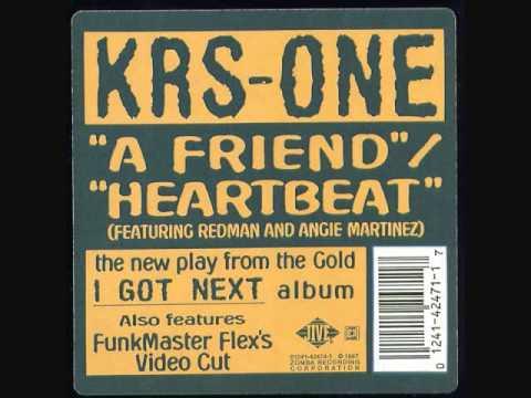 KRS ONE A Friend instrumental