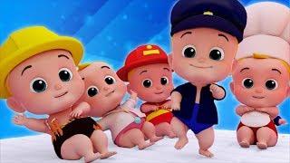 Junior Squad Cartoons | Kindergarten Nursery Rhymes And Kids Songs