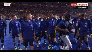 Vegedream enflamme le Stade de France avec les joueurs ! (Ramenez la coupe à la maison)