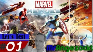 angezockt / Let's Test Marvel Heroes 2015 ★ Free2Play A-RPG - Gameplay ★  [PC, HD+, deutsch]