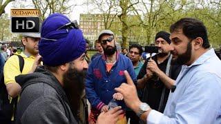 P1 - Come To Reality! Adnan Rashid vs Sikh l Speakers Corner l Hyde Park
