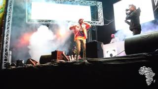 Riky Rick Performing Fuseg, Sidlukotini & Boss Zonke At Major League Gardens