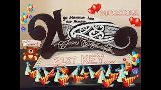 How to make 21st key or ideas for 21st key