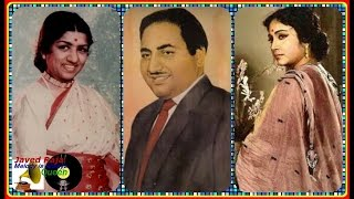 *.RAFI with Lata & Geeta~Film~NAACH~{1949}~Kiyun Karta Maan Jawana Ka ~[ Great Gem-78 RPM