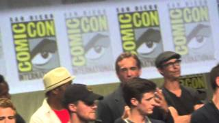 San Diego Comicon 2014 A Night of DC Entertainment Panel featuring Gotham, Arrow, The Flash...