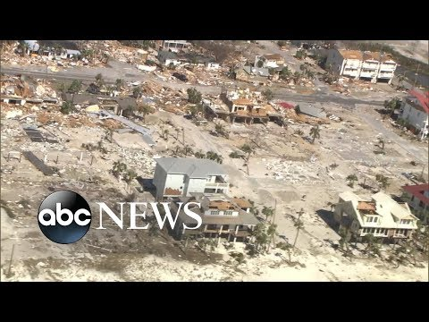 Xxx Mp4 The Aerial View Of Damage That Hurricane Michael Caused 3gp Sex