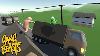 GANG BEASTS - Hit and Run [Father and Son Gameplay]