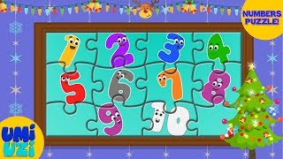 Umi Uzi | Learn Numbers | Puzzles For Kids | Educational Video | Christmas Special