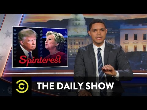 The Daily Show Donald Trump s Post Debate Spin