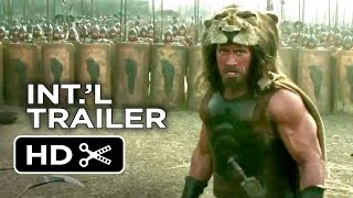Hercules Official International Trailer #1 (2014) - Dwayne Johnson, Ian McShane Movie HD
