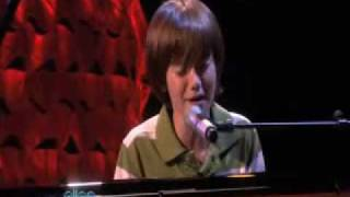 Greyson Chance Performing Paparazzi on Ellen