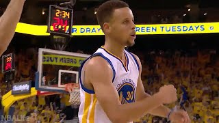 Stephen Curry 2016 NBA Playoffs Highlights | 1st & 2nd rounds