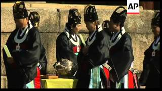 Ritual ceremony celebrates return of Royal Books from Japan