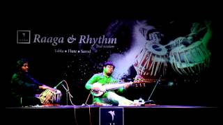 Sarod Tabla Performance by Srinjoy Mukherjee and Mir Naqibul Islam Part 1